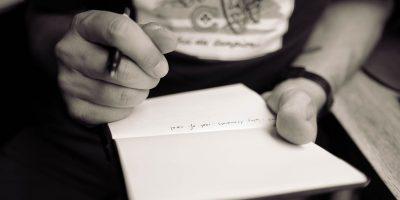 Schrijf, en orden je gedachten