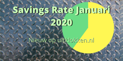 Savings Rate Januari 2020