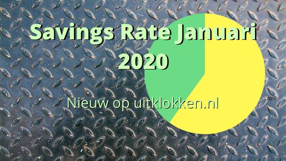 Savings Rate Januari 2020