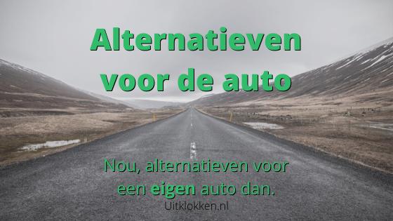 Alternatieven voor de auto