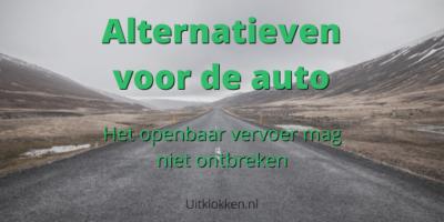 Alternatieven voor de auto: Het Openbaar vervoer