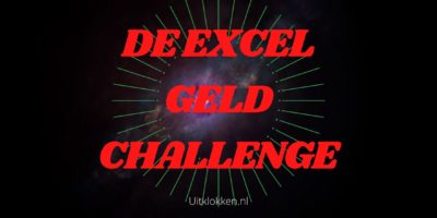 De Excel Geld Challenge