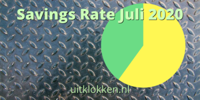 Savings Rate Juli 2020