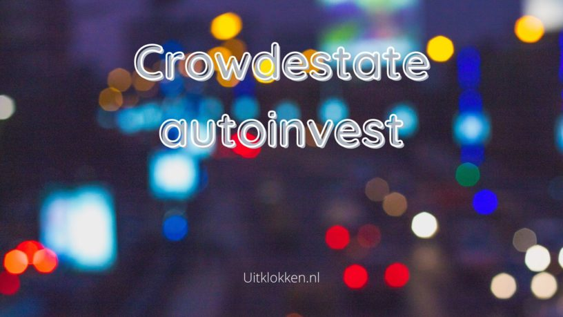 Crowdestate autoinvest