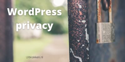 WordPress privacy