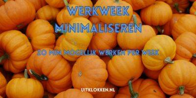 Werkweek minimaliseren