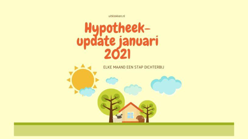 Hypotheekupdate januari 2021