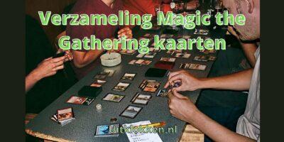 Verzameling Magic the Gathering kaarten